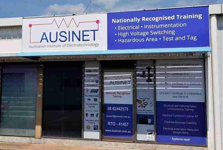 Ausinet Office Darwin Instrumentation courses